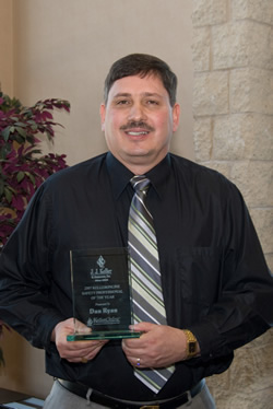 Dan Ryan receives 2007 Safety Professional of the Year Award